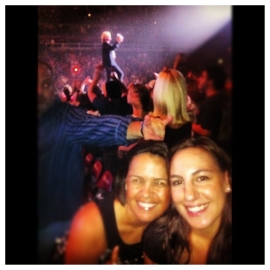 Michele & Jenna at Def Leppard in Miami