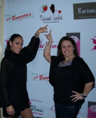 Me & Melissa Gorga Celebrating my Midwest Crochet Logo