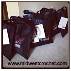 Special Midwest Crochet gifts bags FULL of product