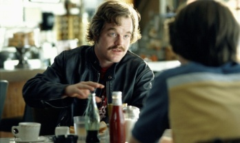 Hoffman as the music critic Lester Bangs in Almost Famous (2000). Photograph: Allstar/Dreamworks/Sportsphoto